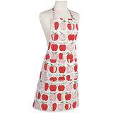 《NOW》平口單袋圍裙(蘋果格紋)