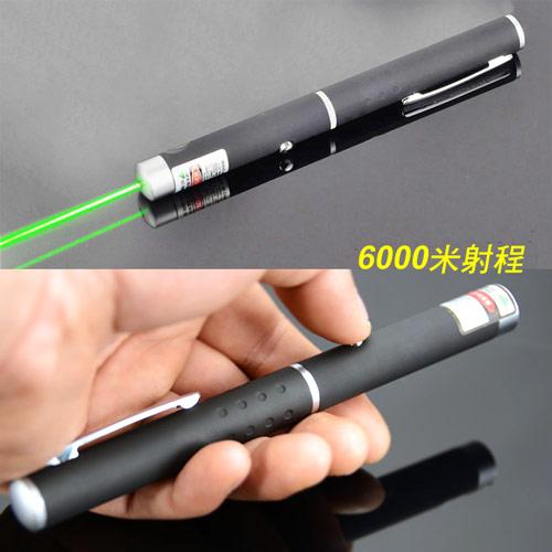 READY高 綠光鐳射簡報筆6000米射程