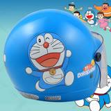 【正版授權 哆啦A夢 奔跑 彩繪 3/4罩兒童安全帽】Doraemon│小叮噹│3/4罩│抗UV鏡片│超萌│超夯