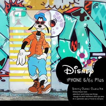 迪士尼授權正版 iPhone 6/ 6S Plus i6S+ (5.5吋) 街頭系列透明軟式手機殼(帥氣高飛)