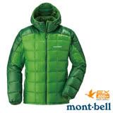 【日本 MONT-BELL】男款 800FP U.L.Guide 超輕羽絨連帽外套/輕量防風夾克.禦寒大衣 綠 1101464