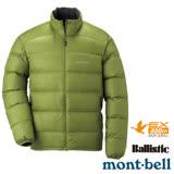 【日本 MONT-BELL 】男款 800FP Light Alpine 輕量羽絨外套/夾克.輕量防風夾克.禦寒大衣 綠茶 1101428
