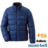 【日本 MONT-BELL 】男款 800FP Light Alpine 輕量羽絨外套/夾克.輕量防風夾克.禦寒大衣 靛藍 1101428