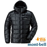 【日本 MONT-BELL 】男款 800FP U.L.Guide 超輕羽絨連帽外套/輕量防風夾克.禦寒大衣 黑 1101464