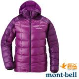【日本 MONT-BELL 】女款 800FP 超輕保暖羽絨夾克/Superior 鵝絨外套.輕量防風夾克.禦寒大衣 桃紫/紫 1101465