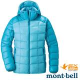 【日本 MONT-BELL 】女款 800FP 超輕保暖羽絨夾克/Superior 鵝絨外套.輕量防風夾克.禦寒大衣 松石藍 1101465