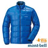 【日本 MONT-BELL 】男款 800FP 超輕保暖羽絨夾克/Superior 鵝絨外套.輕量防風夾克.禦寒大衣 皇家藍 1101466