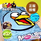 【ANGRY BIRDS】憤怒鳥搖粒絨暖暖厚毯被5*6.5呎/三款任選(B0616-A)