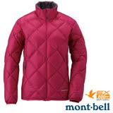 【日本 MONT-BELL 】女款 LIGHT ALPINE 羽絨外套/輕量防風夾克.超潑水禦寒大衣 櫻桃紅 1101429