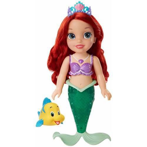 《Disney 迪士尼》閃耀艾麗兒聲光戲水娃娃