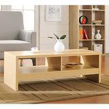 【Yomei】經典設計優雅大茶几桌/邊桌(白橡色)
