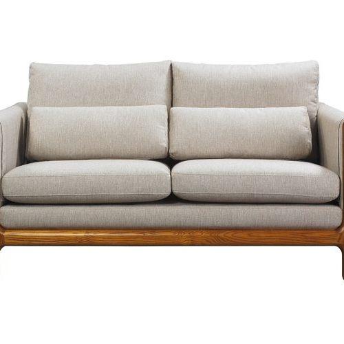 UWOOD H形橡木扶手雙人沙發【SCANDINAVIAN現代北歐】WMSF07O1