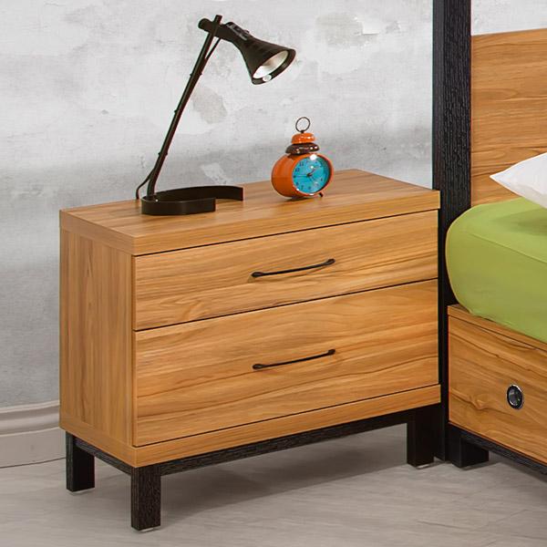《Homelike》黑森林床頭櫃