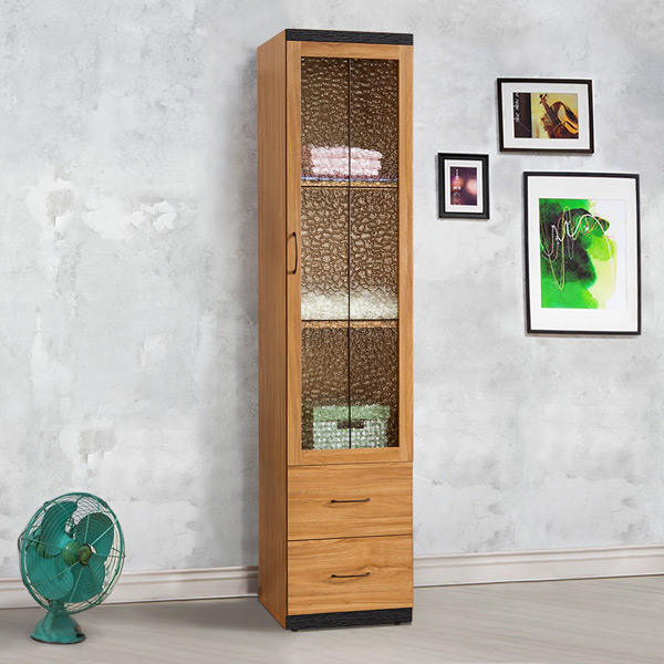~Homelike~黑森林1.5x7尺二抽衣櫃