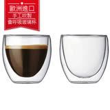 丹麥Bodum PAVINA雙層玻璃杯80CC(一盒二入) 送bodum 2018桌曆