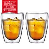 丹麥Bodum PILATUS雙層玻璃杯250CC(一盒二入) 送bodum 2018桌曆