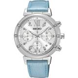 SEIKO LUKIA 台灣限定 星舞密碼計時腕錶 V175-0DF0B SSC856J1