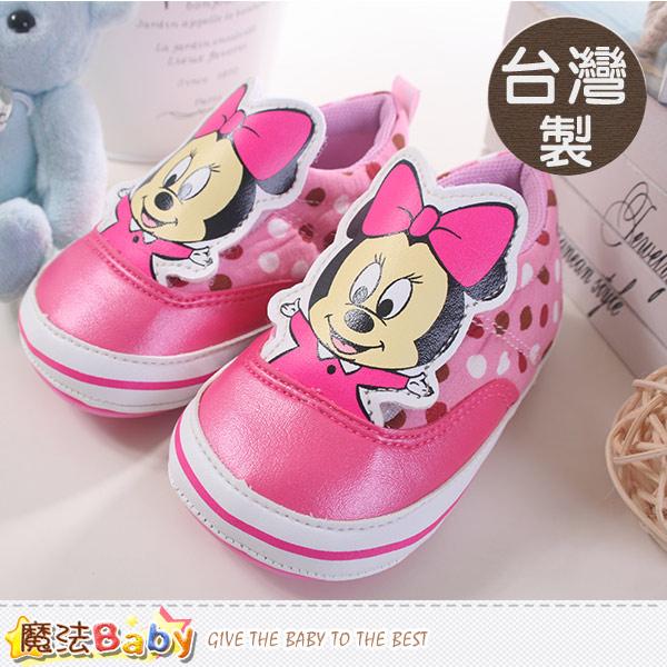 魔法Baby~台灣製迪士尼米妮授權正版寶寶外出鞋 sh8626