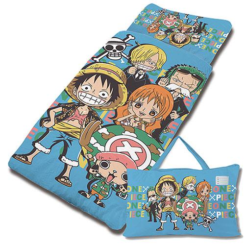 【享夢城堡】航海王 友誼之光系列-精梳棉鋪棉冬夏兩用兒童睡袋