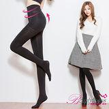【BeautyFocus】台灣製180D全彈性平腹顯瘦保暖褲襪-5300黑色