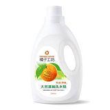 (任選)【橘子工坊】竹炭淨味天然濃縮洗衣精2000ml