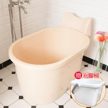 枕墊式 SPA泡澡桶220L