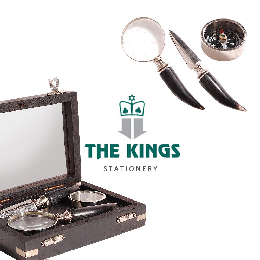 THE KINGS ~ Shakespeare莎士比亞復古工業收藏家典藏組