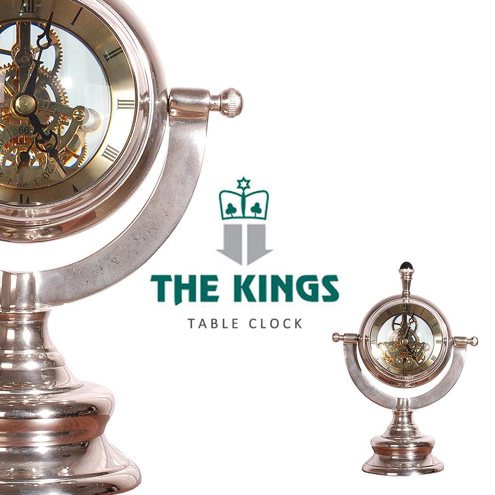 THE KINGS ~ Time Traveler時空旅人復古工業桌鐘