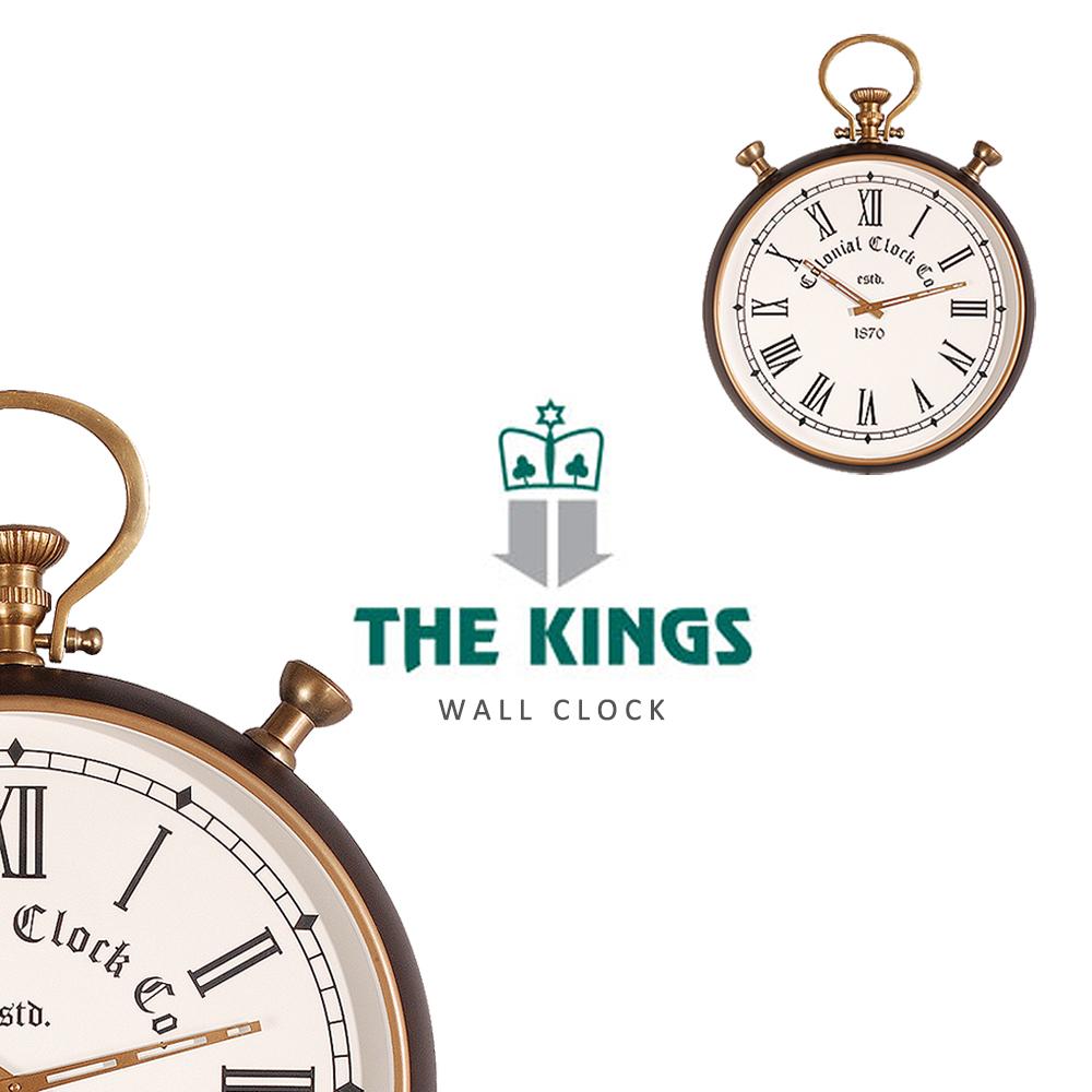THE KINGS ~ Pocket watch懷錶故事復古工業時鐘