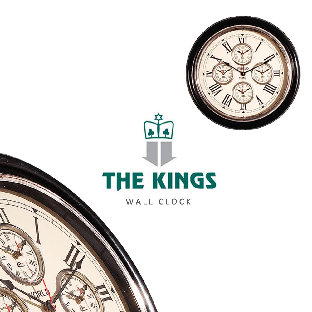 THE KINGS ~ Time Genie世界時鐘復古工業時鐘
