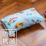 【鴻宇HongYew】兒童透氣多孔纖維枕-交通樂園