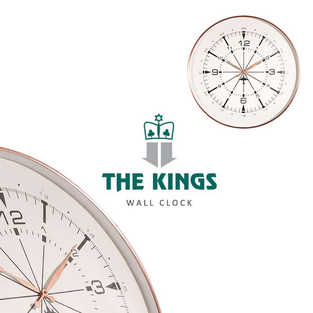 THE KINGS ~ Airplane mode飛航雷達復古工業時鐘