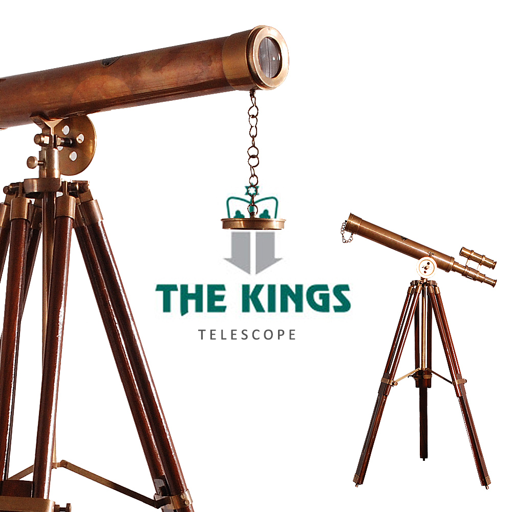 THE KINGS ~ Science大人的科學復古工業西洋望遠鏡