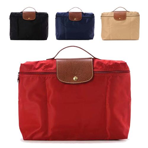 Longchamp 經典高彩度可摺疊公事包_四色可選