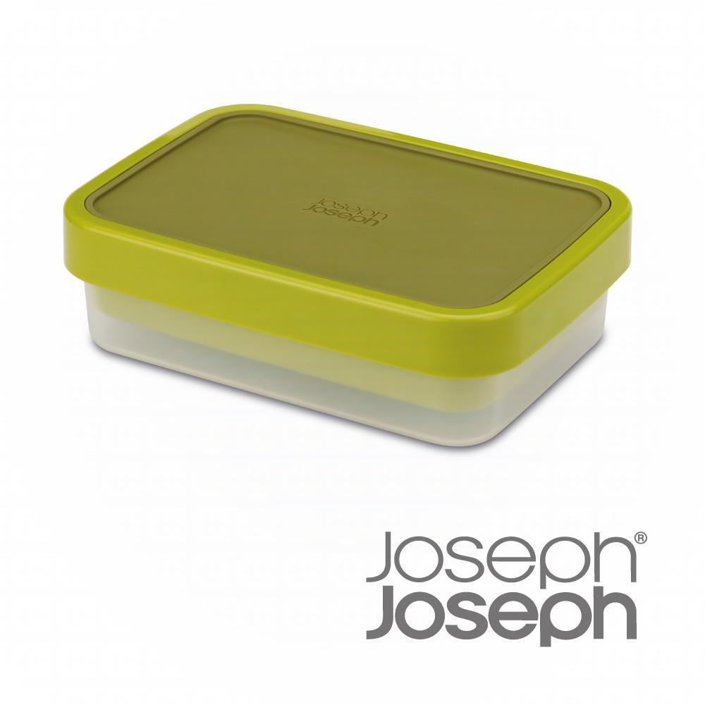 《Joseph Joseph英國創意餐廚》翻轉午餐盒(綠)