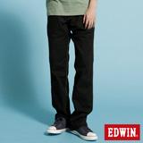 EDWIN KHAKI休閒長褲-男-黑色