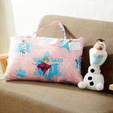 HO KANG 迪士尼授權 雪紡棉兒童睡袋-冰雪粉