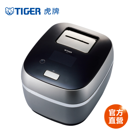 TIGER虎牌 日本製頂級款6人份土鍋壓力IH電子鍋(JPX-A10R)買就送虎牌咖啡機+專用食譜