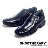 SAPATOTERAPIA(男) 巴西簡約素面直套皮鞋男鞋-黑