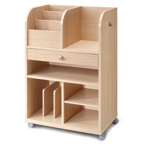 兒童萬用收納書櫃 木製書架 雜誌架 雜誌收納架
