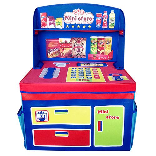 寶貝樂 超市遊戲收納箱