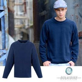 【波萊迪克bolaidike】男款刷毛保暖休閒衣.輕量.快乾.蓄熱 深藍 TP252