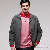 ROBERTA諾貝達 台灣製 經典休閒夾克外套 ROT72-97鐵灰色