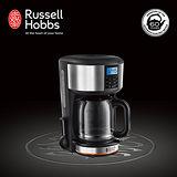 Russell Hobbs 英國羅素 Legacy 晶亮咖啡機-晶亮銀 20681TW