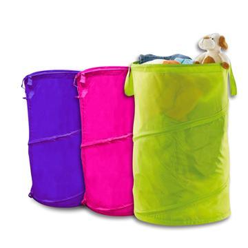 USEFUL 多功能折疊伸縮 收納桶/洗衣籃/置物桶 超大容量72L (A29101)