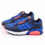 Adidas 男款 RUN9tis TM 輕量慢跑鞋F98272-藍橘