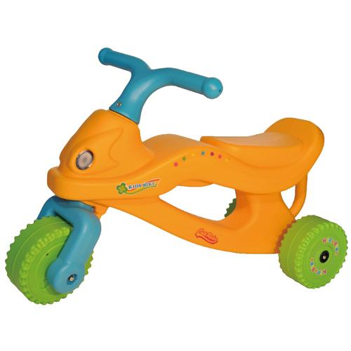寶貝樂 撞色機器人學步車/助步車-黃色