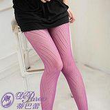 蒂巴蕾Deparee 蒂巴蕾INSPIRE BE-BAD 彈性絲襪-阡陌 黑莓紫