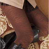 蒂巴蕾 Deparee inspire 超細纖維彈性褲襪Warm up心心相印 顯瘦黑/摩卡咖/鐵灰