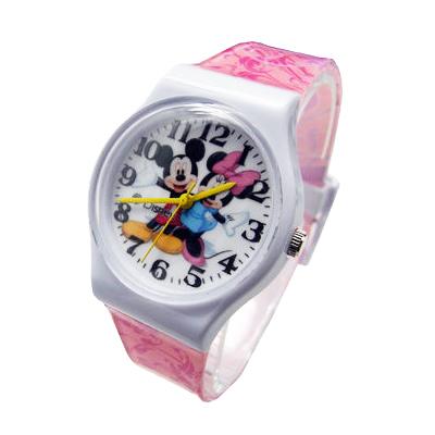 【Disney迪士尼】卡通錶(大)---歡樂米奇米妮1